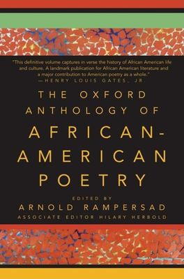 Cover art for The Oxford Anthology of African-American Poetry