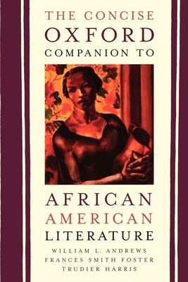 Cover art for The Concise Oxford Companion to African American Literature
