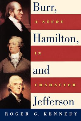 Burr, Hamilton, and Jefferson cover