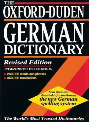 book cover for Oxford-Duden German Dictionary