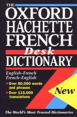 book cover for Oxford Hachette French Desk Dictionary