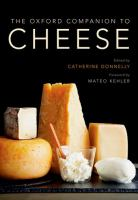 Cover art for The Oxford Companion to Cheese