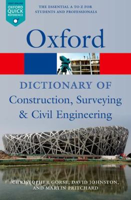 Cover Art - A dictionary of construction, surveying, and civil engineering