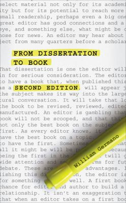 Image of cover to, From Dissertation to Book, Second Edition, that links out to eBook resource.