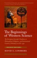 The beginnings of western science