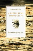 A River Runs Through It (book cover)