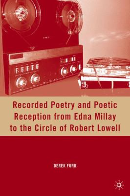 book cover for Recorded Poetry and Poetic reception