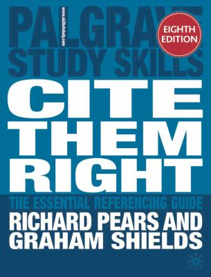 Cite them right cover