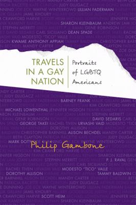 Book jacket for Travels in a Gay Nation