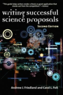 (Writing Successful Science Proposals) cover art