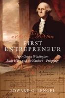 Cover art for The First Entrepreneur
