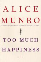 Cover art for Too Much Happiness
