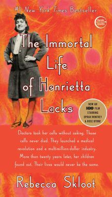 The Immortal Life of Henrietta Lacks book jacket