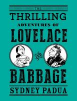 Cover art for Thrilling Adventures of Lovelace and Babbage