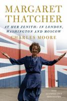 Cover art for Margaret Thatcher