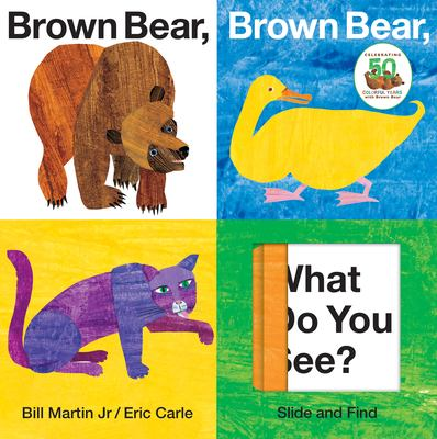 Book cover for Brown Bear, Brown Bear What do You See?