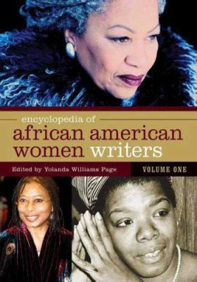 Cover art for Encyclopedia of African American Women Writers
