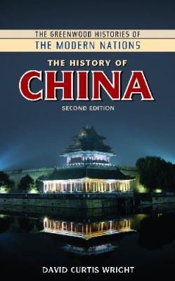 The History of China book cover photo