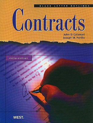 Black Letter Outline Contracts