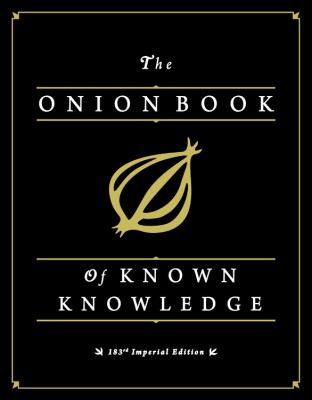 Cover image for The Onion book of known knowledge 