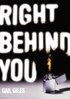 cover of Right Behind You