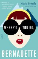 Cover art for Where'd You Go Bernadette