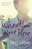 Cover art for When You Were Here