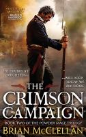Cover art for The crimson Campaign