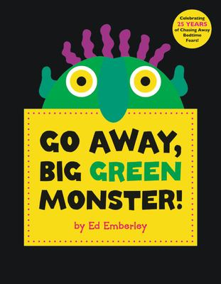 Book Cover: Go Away, Big Green Monster!