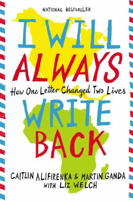 Cover Art: I Will Always Write Back