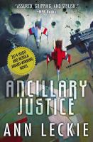 Book cover: Ancillary Justice