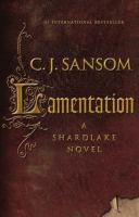 Lamentation by Sansom, C. J. © 2015 (Added: 2/24/15)