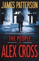 Cover art for The People vs. Alex Cross