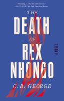 Cover art for The Death of Rex Nhongo