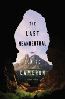 Cover art for The Last Neanderthal
