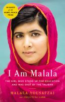 Cover art for I am Malala