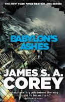 Cover art for Babylon's Ashes