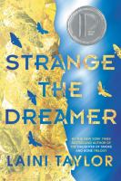 Cover art for Strange The Dreamer