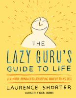Cover art for The Lazy Guru's Guide to Life