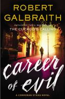 Cover of Career of Evil