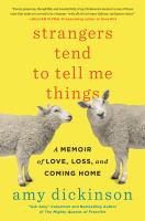 Strangers Tend To Tell Me Things : A Memoir Of Love, Loss, And Coming Home by Dickinson, Amy © 2017 (Added: 3/16/17)