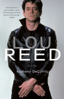 Cover art for Lou Reed