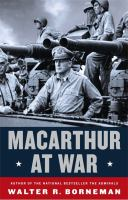 Cover art for MacArthur At War