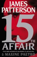 15th Affair by Patterson, James © 2016 (Added: 5/2/16)