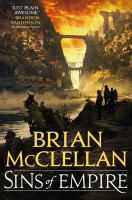 Sins Of Empire by McClellan, Brian © 2017 (Added: 7/5/17)
