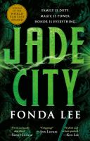 Cover art for Jade City