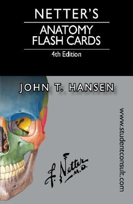 Book cover links to Netter's Anatomy Flash Cards by John T Hansen