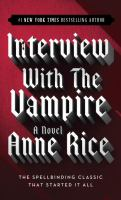 Cover art for Interview With The Vampire
