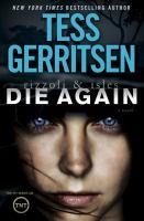 Die Again by Tess Gerritsen
