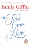 Cover art for First Comes Love